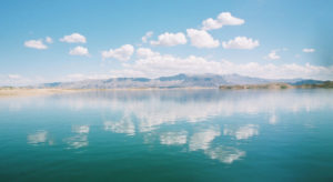 Beautiful Lake Mead conditions